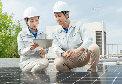 太陽光コンシェルのサービスイメージ