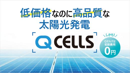 低価格 高性能 Qセルズ太陽光発電 収支 特徴